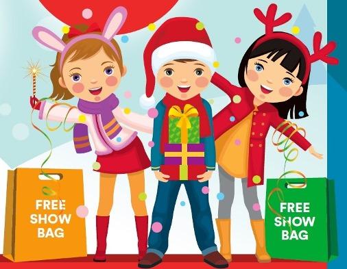 Free Showbags!  Sat 24 Nov