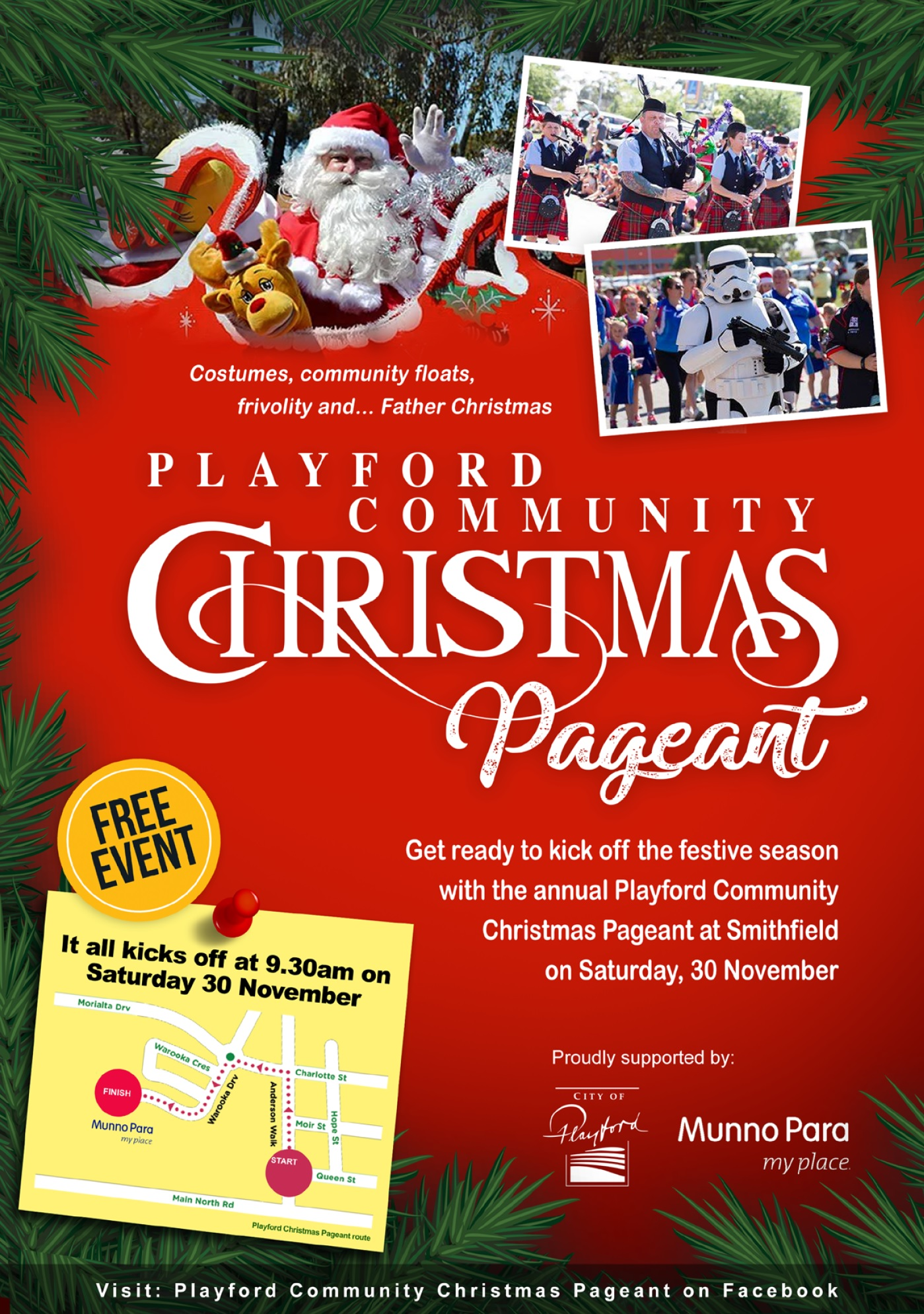 Playford Community Christmas Pageant